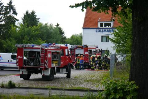 Collmann - пожарная часть Любека