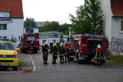 Пожарные в Германии (Любек)