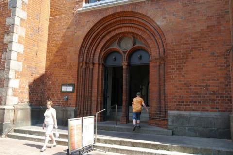 Вход в церковь святого Петри (Любек)