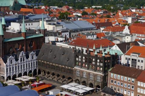 Городская ратуша (Любек). Центр города