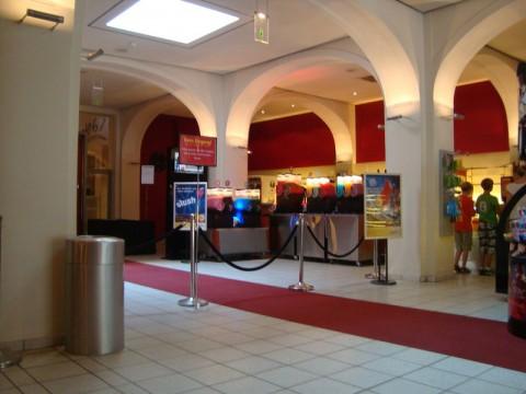 Внутри кинотеатра в Любеке