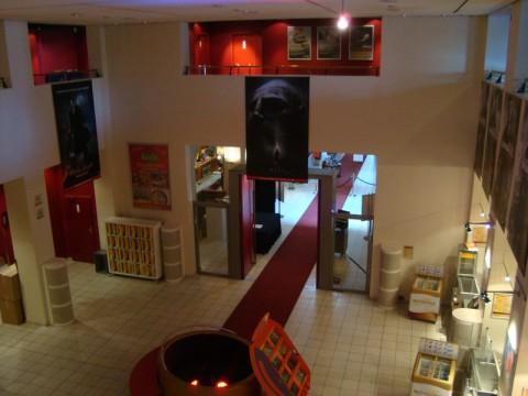 Вид на первый этаж в кинотеатре