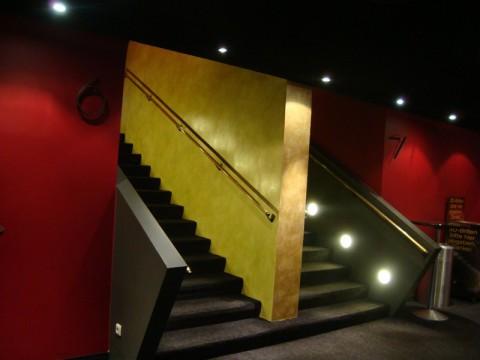 Два кинозала в кинотеатре в Любеке (Германия)