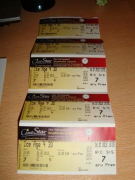 Билеты в кинотеатр на 3D сеанс