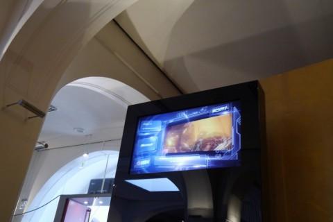 Телевизор в кинотеатре Любека