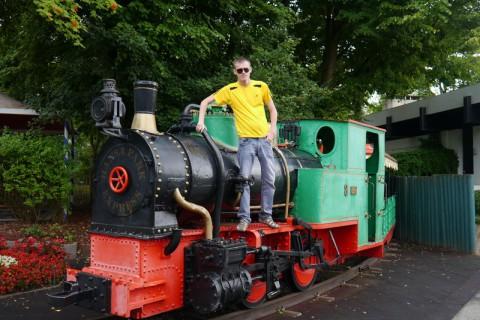 Поезд в Hansa Park