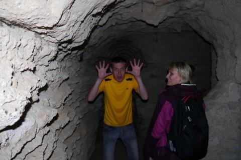 В пещере...