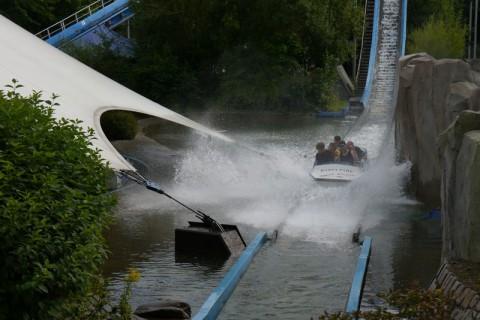 "Hansa Park - Wasserbahn ""Super Splash"""
