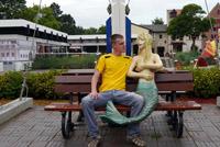 Я и русалка в Hansa Park