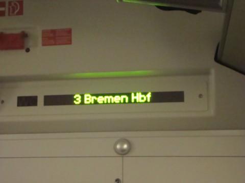 Следующая остановка: центральный вокзал Бремена