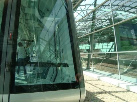 Подвесная железная дорога в Дюссельдорфе - с вокзала в аэропорт