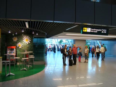 В аэропорту Дюссельдорфа (Германия)