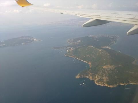 острова близ Стамбула - приземляемся в аэропорт Стамбула Сабиха Г.
