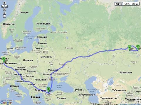 Весь мой путь из Германии в Казахстан через Россию и Турцию