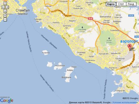 Стамбул. Мраморное море. Острова.
