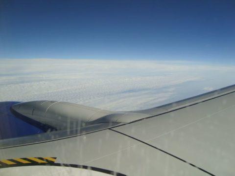 Лечу в Домодедово