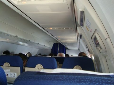 Самолет Астана-Москва