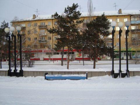Бульвар Победы в Омске