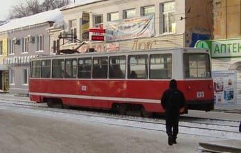 Трамвай в Омске