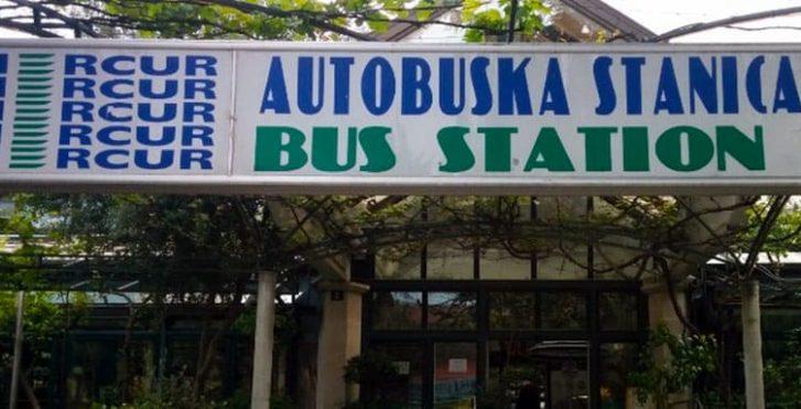 Автобусная станция в Будве