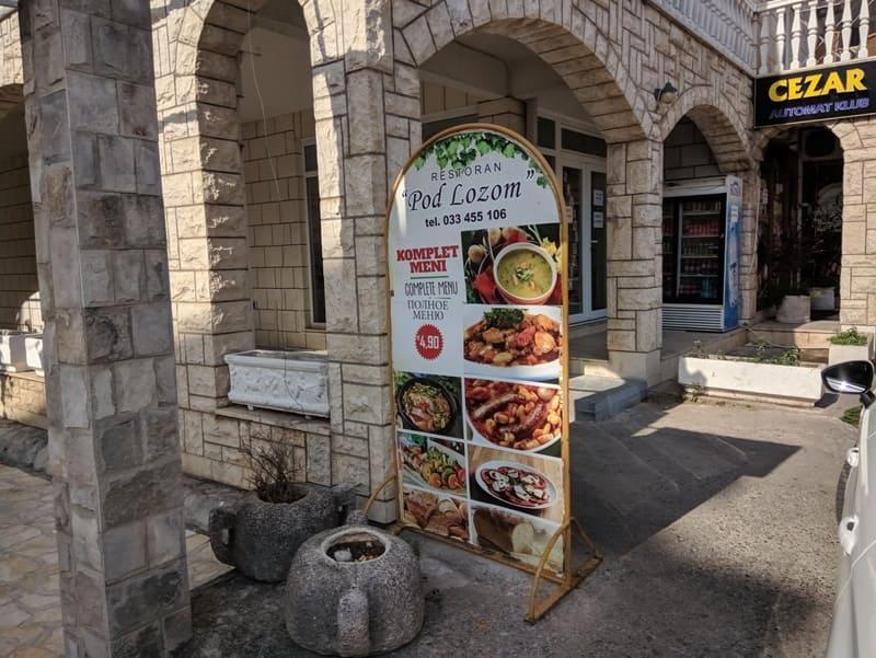 Алкоголь в Черногории